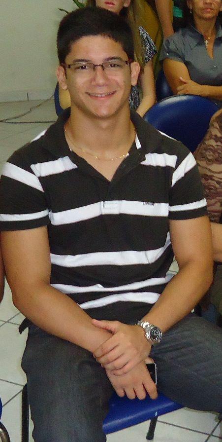 Silvério Filho, estudante de direito e portador de TOC (Foto: Nalã Ewert/Labjorn-Fotec)
